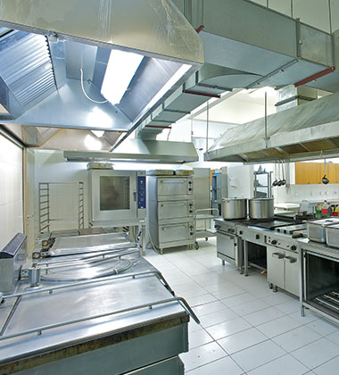 Washing technologies for professional and industrial kitchens