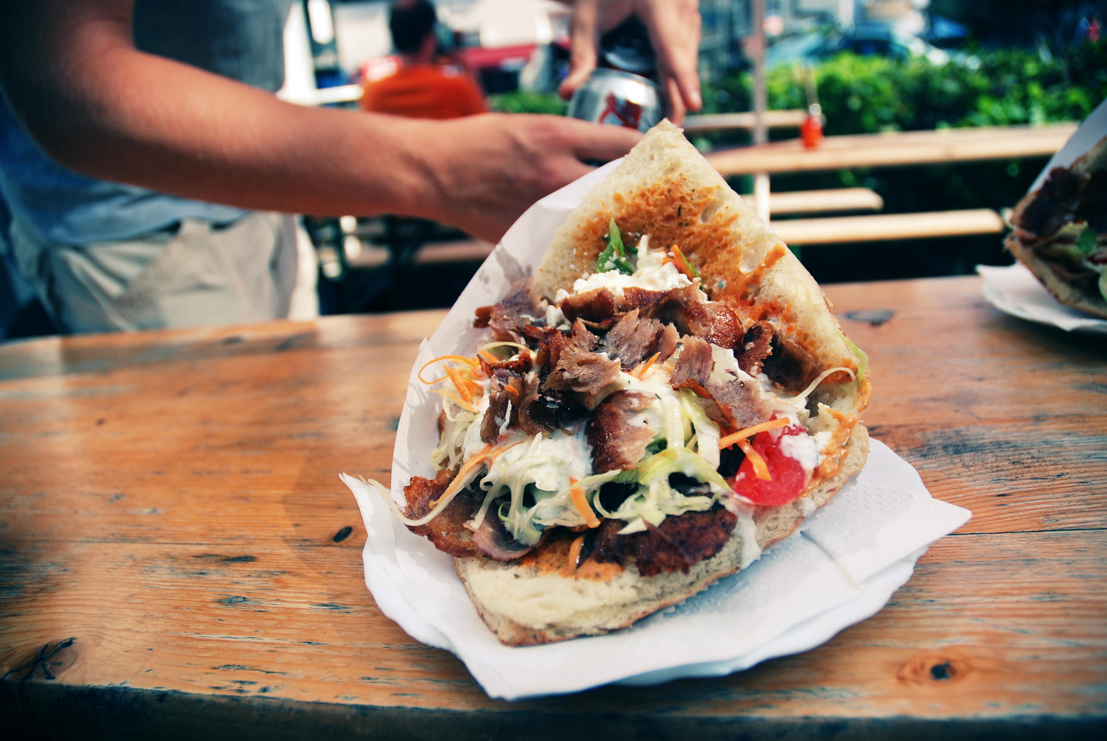 Attrezzature per kebab