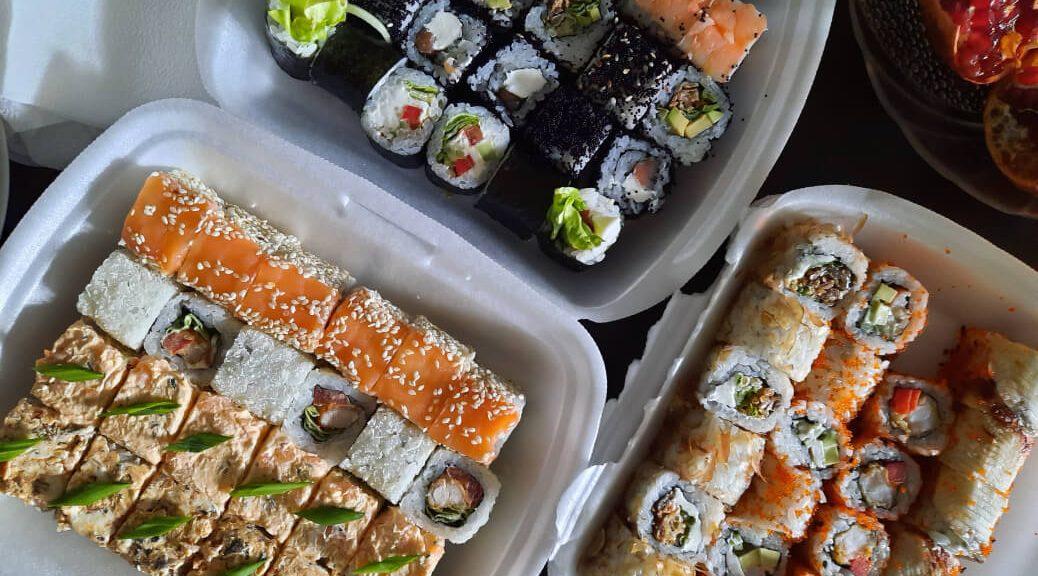 Vetrine refrigerate per sushi all'insegna del design